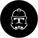 dark, helmet, hero, side icon