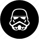 dark, face, head, helmet, soldier, star, wars icon