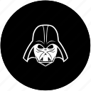 dark, dart, helmet, side, star, wars, weider icon