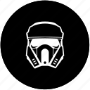 face, head, helmet, hero, soldier, star, wars icon
