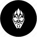 face, head, hero, mask, star, wars icon