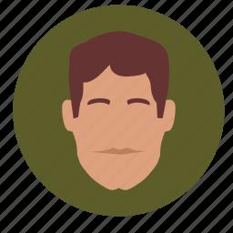 avatar, face, male, man, skin icon