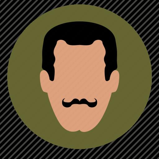 avatar, face, italian, man, skin icon