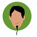avatar, face, man, skin, warrior icon