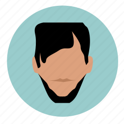 avatar, hair, skin, style, unformal icon