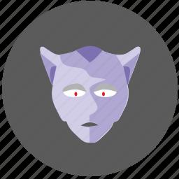 alien, avatar, face, hero, mask icon