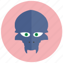 alien, animal, avatar, face, head icon