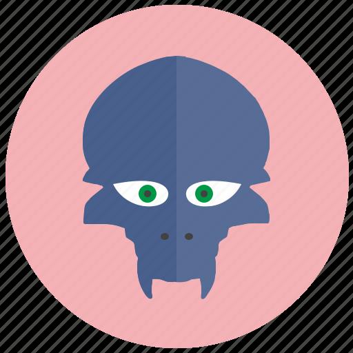 alien, animal, avatar, face, head icon