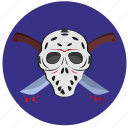 avatar, face, killer, mask icon
