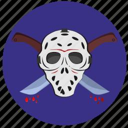 avatar, face, killer, mask icon