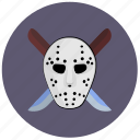 avatar, killer, knifes, maniac, mask icon