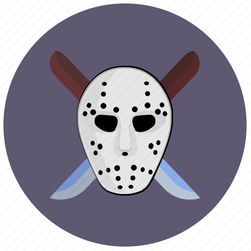 avatar, killer, knifes, maniac, mask icon