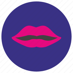 avatar, girl, lips, sex, woman icon