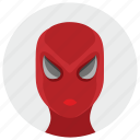 avatar, comics, face, man, mask, spider, spiderman icon