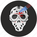 avatar, killer, mask, round icon