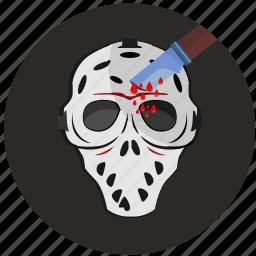 avatar, killer, mask, round icon