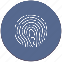 biometry, dactyl, dactylography, finger, identity, person icon