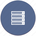 data, hdd, raid, server, storage icon