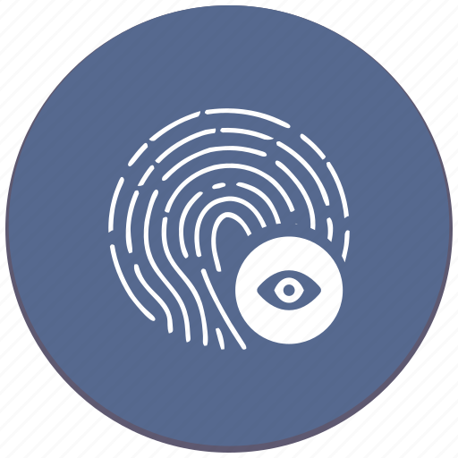 dactyl, dactylography, id, person, preview, round, view icon