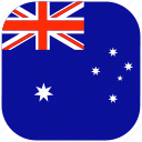 australia, australian, country, flag, national, rounded, square