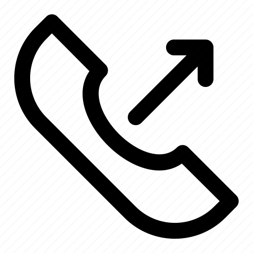 call, communication, mail, message, out icon