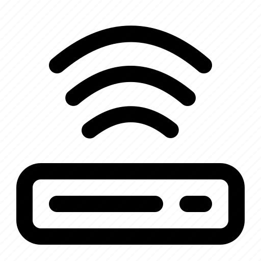 computer, hardware, it, router, wifi icon