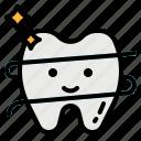 dental, floss, hygiene, sanitary, tooth