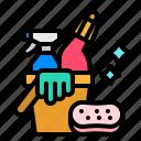 clean, hygienic, soap, sponge, wiping
