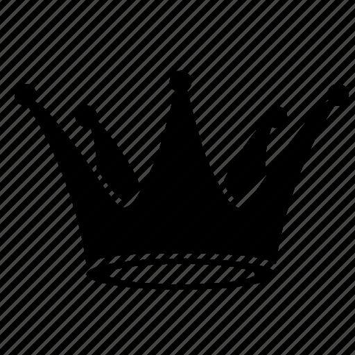 corona, crown, prince, royal icon