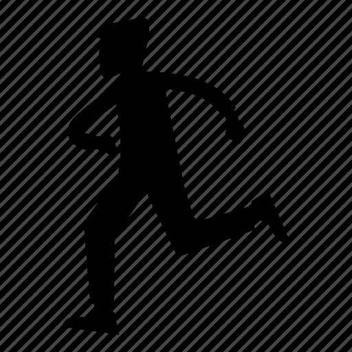 fitness, man, run, running, sport, sports icon
