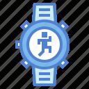 garmin, rate, heart, sport, watch icon
