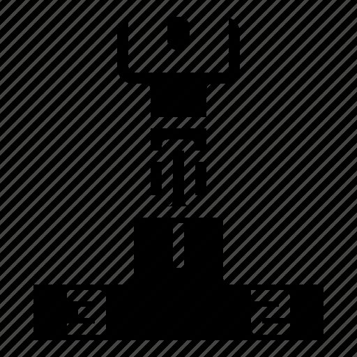award, champion, cup, podium, success, trophy, winner icon