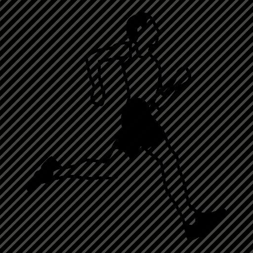 cardio, fitness, jogging, marathon, runner, running, sports icon