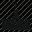 architecture, clock, kremlin, russia, russian, spasskaya icon