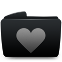 folder, heart