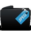 folder, jpeg icon