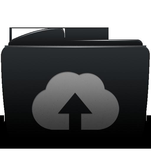 folder, upload, web icon