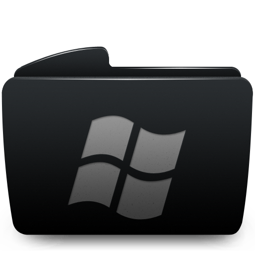 folder, window icon
