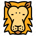animals, lion, mammal, zoo icon
