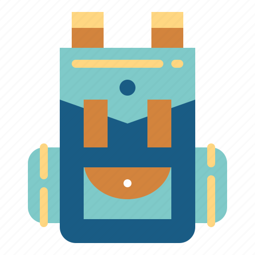 Backpack, bag, luggage, travel icon - Download on Iconfinder