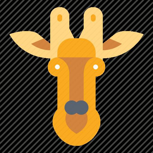 animal, giraffe, mammal, wildlife icon