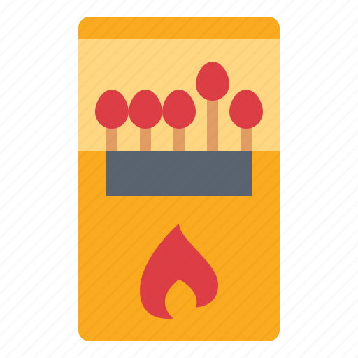 energy, fire, flame, matches icon