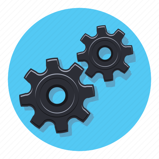 gears, options, preferences, settings, system, tools icon