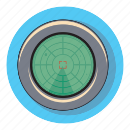radar, safety, search, space icon