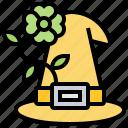 clover, fashion, hat, leprechaun, tradition icon