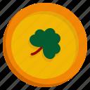 coin, celebration, gold, money, patrick, saint patricks day icon