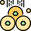 clover, coins, day, gold, patrick, shamrock, st icon