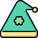 clover, costume, day, hat, patrick, st icon