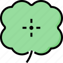 clover, day, leaf, luck, patrick, shamrock, st icon