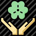 clover, day, irish, luck, patrick, shamrock, st icon